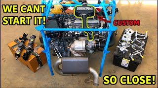 Turning A Salvaged Car Into A Street Legal Race Car Part 7