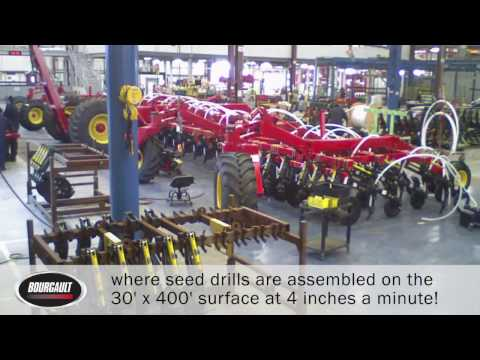Bourgault Industries - Factory Tour Invitation