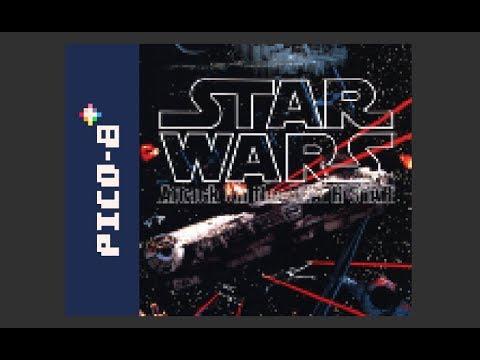 X-Wing vs. Tie Fighter: Attack on the Death Star - Pico-8 demake