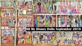 All My Disney Dolls September 2016