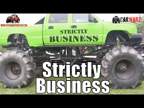 STRICTLY BUSINESS Mega Truck At Perkins Spring Mud Bog