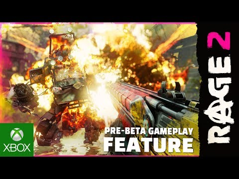 RAGE 2: 9 minutes of New Pre-Beta Gameplay