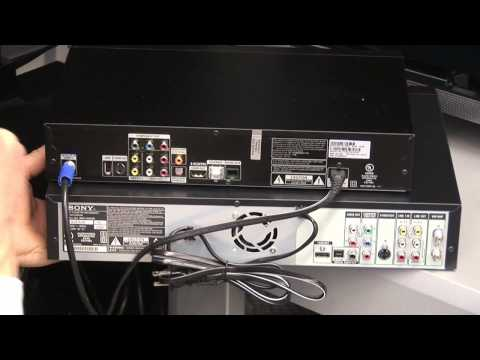 direct tv installation how to hook a vcr up to directv. Black Bedroom Furniture Sets. Home Design Ideas