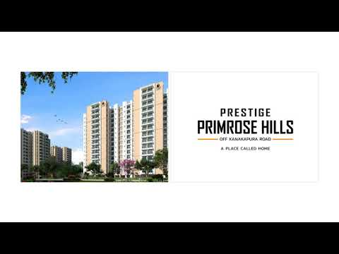 Prestige Primrose Hills Floor Plan Bangalore