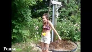 Funny Video  Not Try To Laugh Funny Pranks Girls Wet My Pants 2015