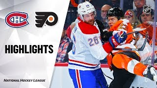 NHL Highlights | Canadiens @ Flyers 11/07/19