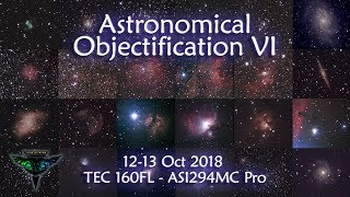 Astronomical Objectification VI - 10 Hrs, 70+ objects!