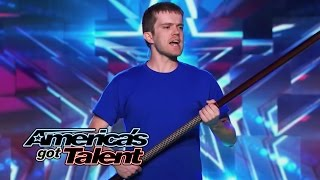 Dustin's Dojo: Comedy Karate Act Defends Golden Buzzer Save - America's Got Talent 2014