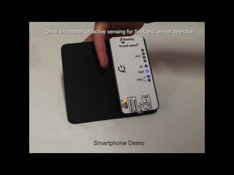 Azoteq's IQS622 Smartphone demo