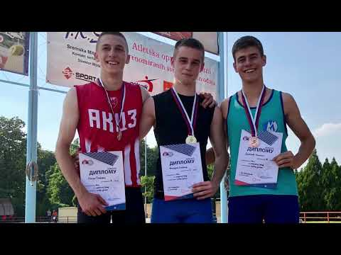 Stefan Mihajlov, finale100m i proglašenje
