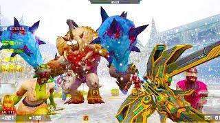 Counter-Strike Nexon: Zombies - Frozen Terror Boss Fight (Hard7) online gameplay on Encounter map