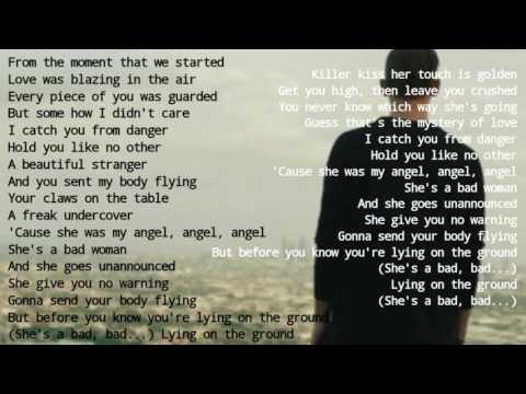Stanaj - Bad woman  (Lyrics)