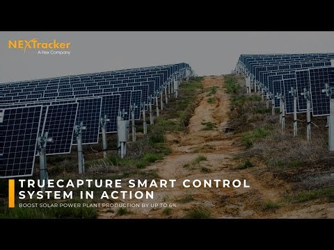 Nextracker's TrueCapture in action on Mississippi solar power plant