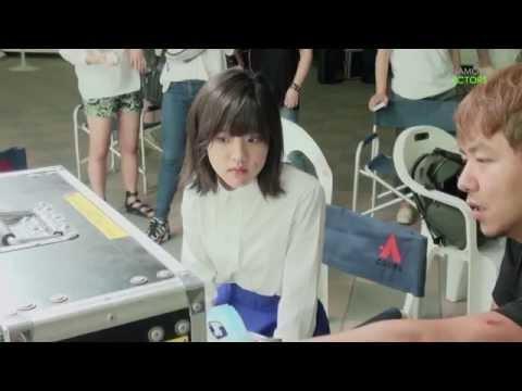 [김향기] 인피니트 Back 뮤직비디오 촬영현장 (Kim Hyang Gi_INFINITE Back)