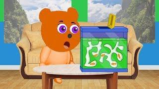 Mega Gummy bear Termites want to Eat Cartoon Animation Nursery Rhymes