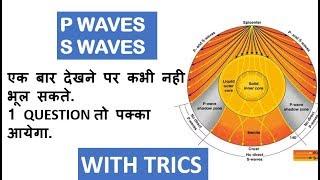 P , S WAVES (अनुदैर्ध्य तरंग,अनुप्रस्थ तरंग)