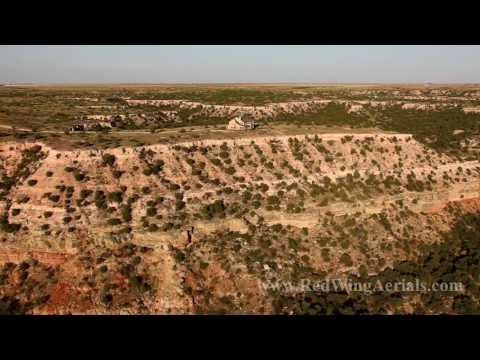 Palo Duro Canyon Aerial Videography