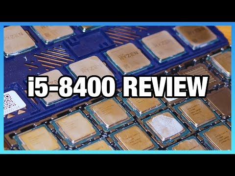 video Intel Core i5 8400