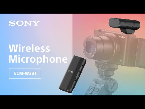 Introducing the Sony ECM-W2BT Wireless Microphone for Vlogging