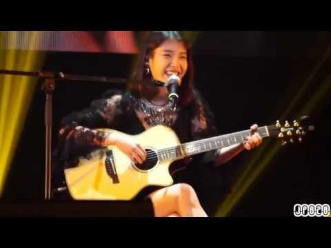 140323 IU 아이유 홍콩 Modern Times 쇼케이스 - 처음 중국어 노래