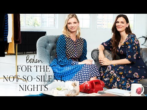 boden.co.uk & Boden Voucher Code video: Speed-dial style: Christmas Party outfits with Ruth Crilly