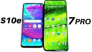 Samsung Galaxy S10e vs OnePlus 7 Pro