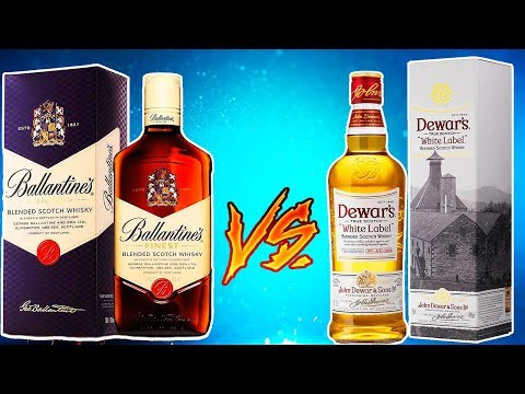 Ballantine's vs Dewar's White Label - Выбираю лучший бленд до 1300р (балантайнс, дьюарс вайт лейбл) photo