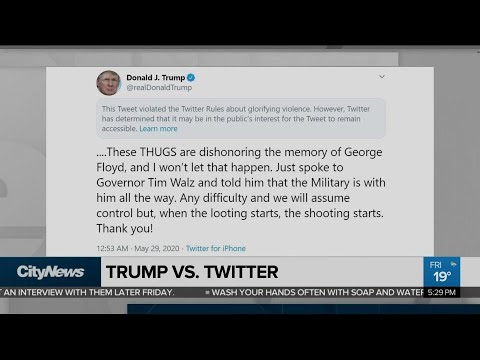 Can Trump really shut down Twitter?