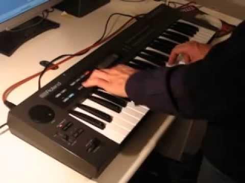 ROLAND ALPHA JUNO-1 Analog Synthesizer 1985 | HQ DEMO