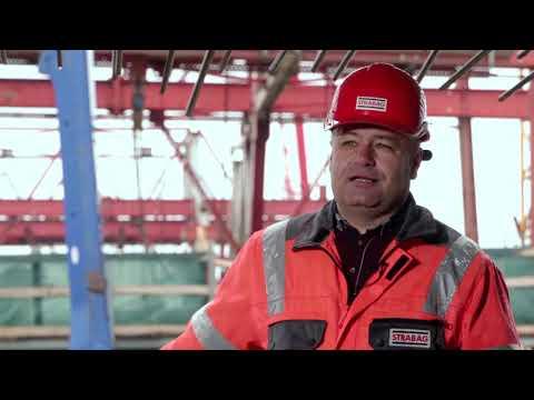 STRABAG Slovensko - Výstavba diaľnice