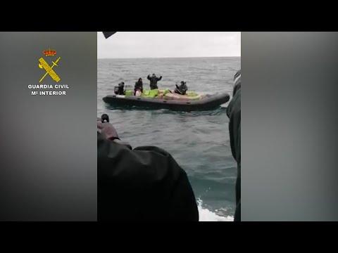 La Guardia Civil interviene más de 8.100 kilos de hachís en tres actuaciones en Cádiz