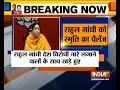 Congress standing with those who raise anti-India slogans: Smriti Irani