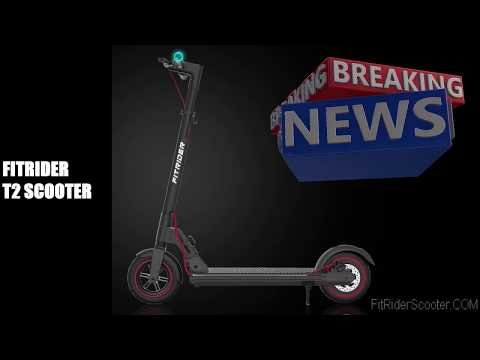 FitRider Scooter T2 Model with Swappable Battery design / FitRider China