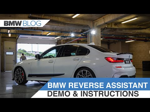 How to use the BMW Reversing Assistant - DEMO