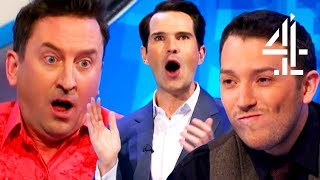 Lee Mack STUNS EVERYONE With His 9-Letter Word!!   8 Out Of 10 Cats Does Countdown   Lee Mack Pt. 1