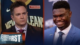 Is Zion a lock to become an instant NBA superstar? Chris Mannix weighs in | NBA | FIRST THINGS FIRST
