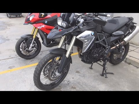 BMW Motorrad F 800 GS (2016) Exterior and Interior in 3D