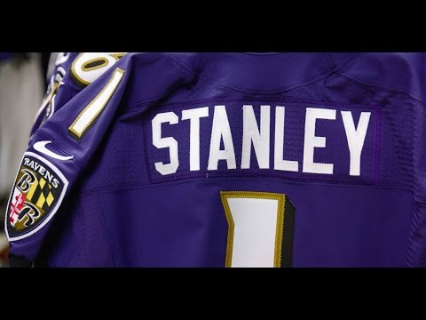 Making Of Ronnie Stanley's Ravens Jersey