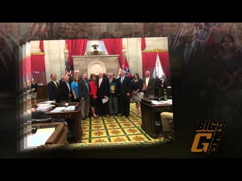 TN House of Representatives Recognize Danny Smith for TCA Driver of the Year Award