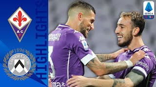 Fiorentina 3-2 Udinese | Castrovilli Fires La Viola Up the Table | Serie A TIM