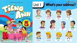Tiếng Anh Lớp 5: UNIT 1 WHAT'S YOUR ADDRESS - FullHD 1080P