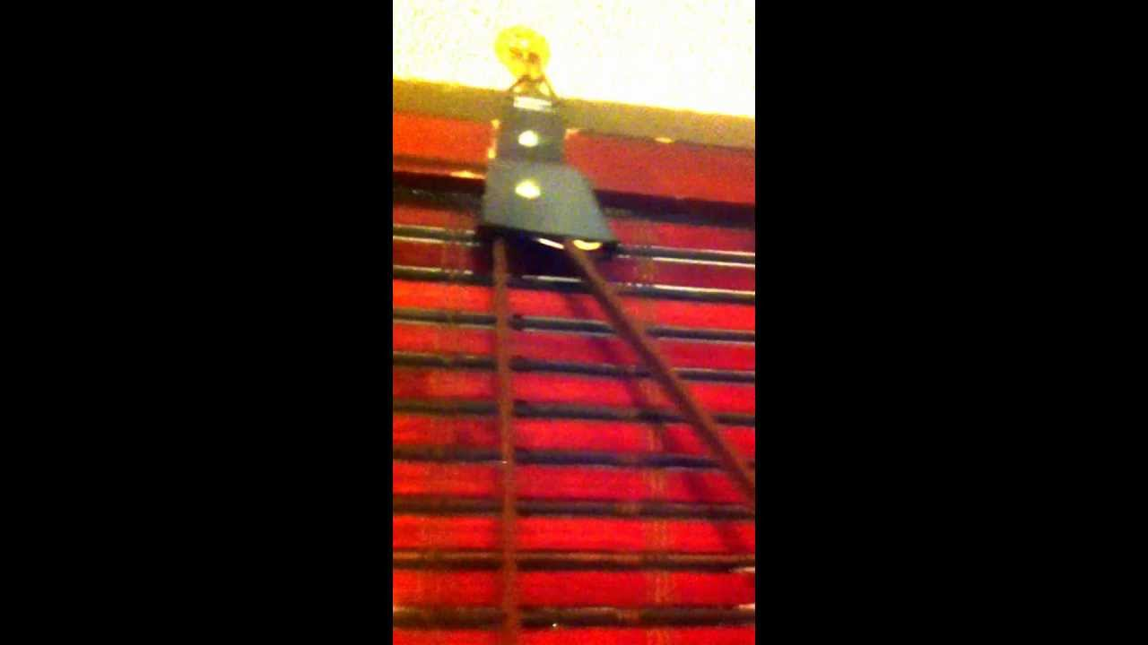 How To Fix Roll Up Bamboo Blinds Img 4807 1 Mov Youtube