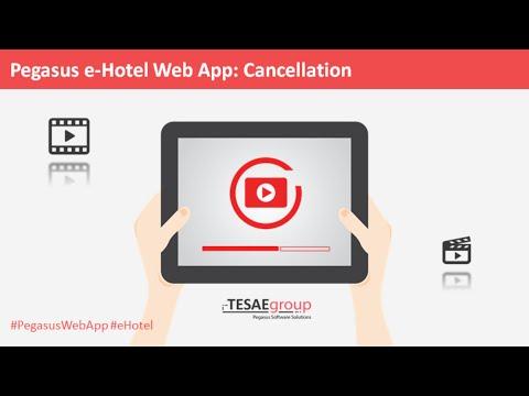 Cancellation-Pegasus Web App e-Hotel