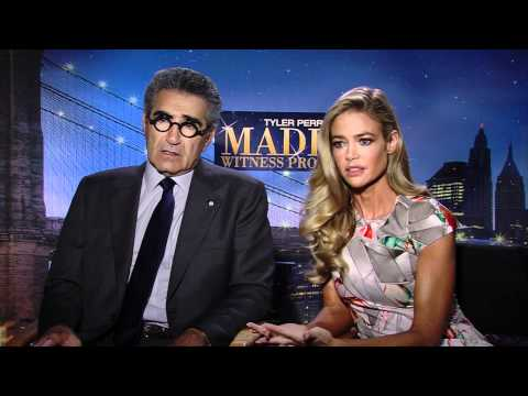 Eugene Levy & Denise Richards Talk 'Madea's Witness Protection ...