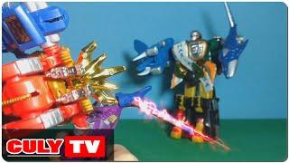 robot siêu nhân gao vua đánh gao khỉ đột cứu người nhện và nobita - đồ chơi Doremon hài trẻ em