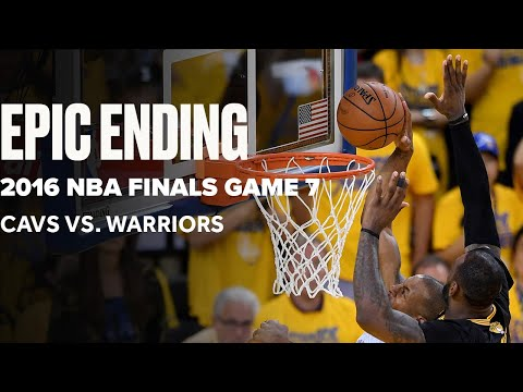Flashback To Epic Game 7 Ending Between Cavaliers And Warriors   Final Minutes