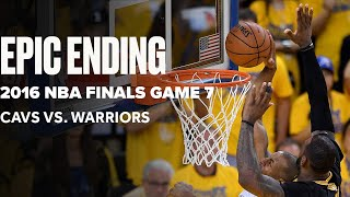 Flashback To Epic Game 7 Ending Between Cavaliers And Warriors | Final Minutes