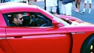 RAW Footage 1/3: Paul Walker & Roger Rodas Crashed Porsche Carrera GT 0479
