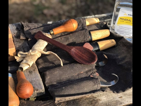 Carving Tips and Tricks, the Quick Spoon Mule