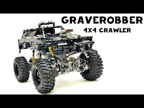 Lego Technic 42039 Rc Motorized Race Car Video
